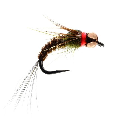 Red Collar PTN Barbless (Size 12)