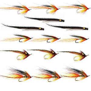 Summer Salmon Flies For The Tay & Tummel - Collection