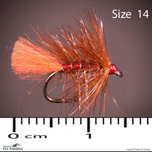 Soldier Palmer Hackled Wet Fly