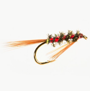 Slim Line Diawl Bach Holo Red (Size 10)