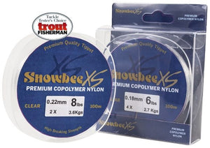 Snowbee XS Copolymer Nylon-Clear 100m spool