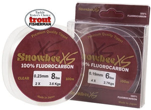 Snowbee XS Fluorocarbon Clear 100m Spool