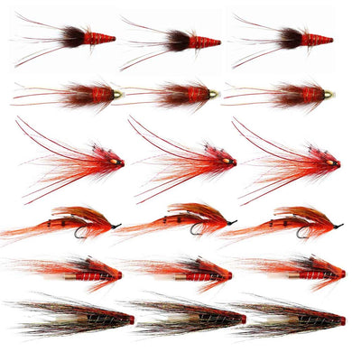 Autumn Salmon Flies For The Spey  - Collection