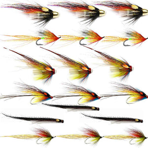 Summer Salmon Flies For The Spey - Collection
