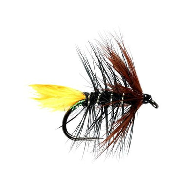 Sunburst Kate  Hackled Wet Fly (Size 12)