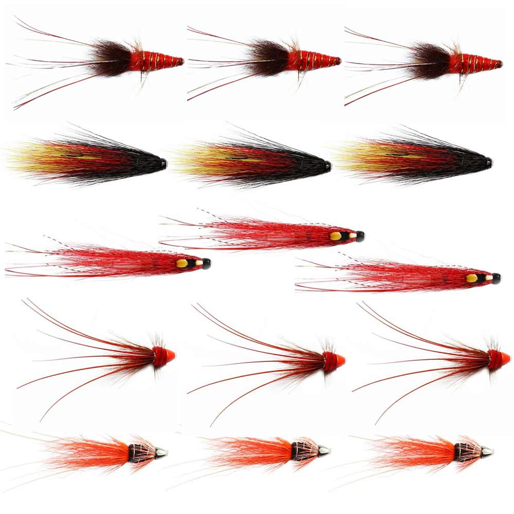 Autumn Salmon Flies For The Tweed - Collection