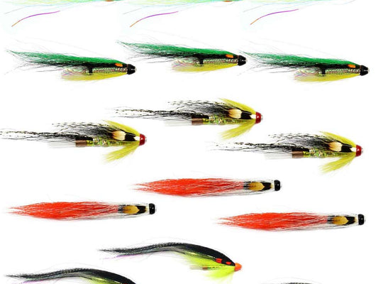 Spring Salmon Flies For The Tweed - Collection