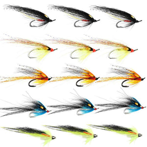 Summer Salmon Flies For The Tweed - Collection