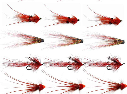 Autumn Salmon Flies For The Tyne - Collection