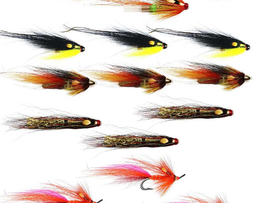 Spring Salmon Flies For The Tyne - Collection