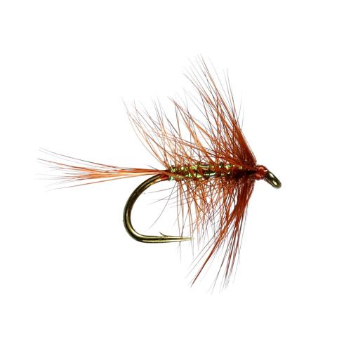 Wickham Spider Hackled Wet Fly (Size 12)