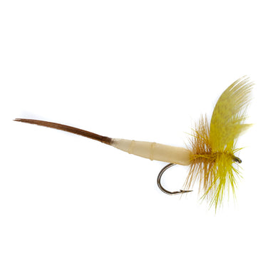 Detached Mayfly Yellow Drake (Size 12)