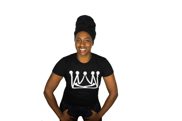 Women's Cotton T-Shirt - Krown Worthy