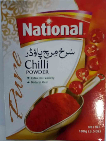 National Chilli Powder 100g