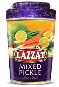 Lazzat Mixed Pickle 1 kg