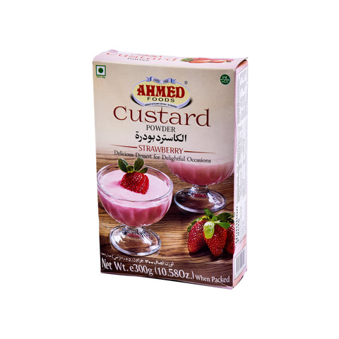 Ahmed Strawberry Custard