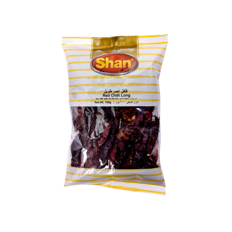 Red Chilli Long (Poly) 100gm