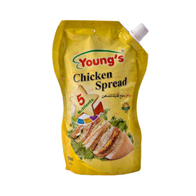 Youngs Chk Spread Pouch 500 gm