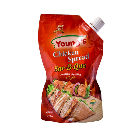 Youngs BBQ Chicken  Pouch