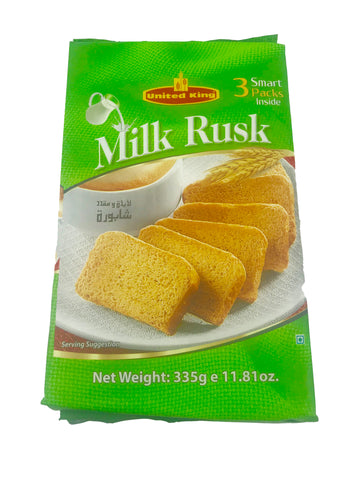 United Milky Rusk 335gm