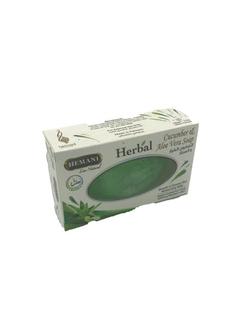 Herbal Cucumber & Aloe Soap 100gm