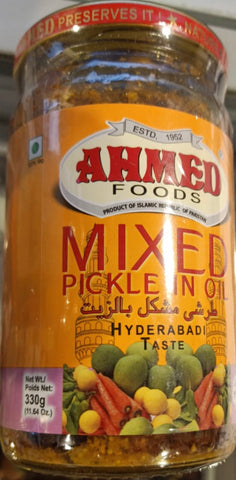 Ahmed Hyderabadi Mix Pickle 330 gm