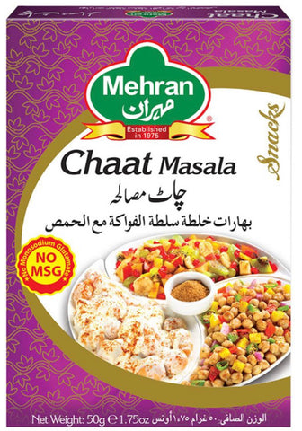 Mehran Chaat Masala 50gm