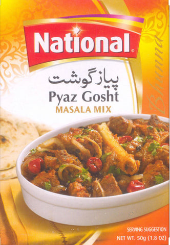National Pyaz Gosht Masala