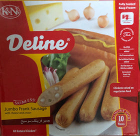 Deline JF Sausage with a Cheese & Onion 8