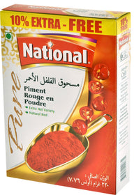National Chilli Pwdr 220gm