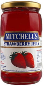 Mitchell's STRAWBERRY JELLY 450G