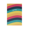 A6 Notebook - 5 Colour Wave Pattern - Primary Photo