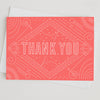 Thank You Cosmos Greeting Card