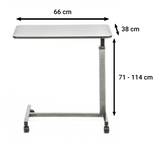Senick Non-Tilt Overbed Table