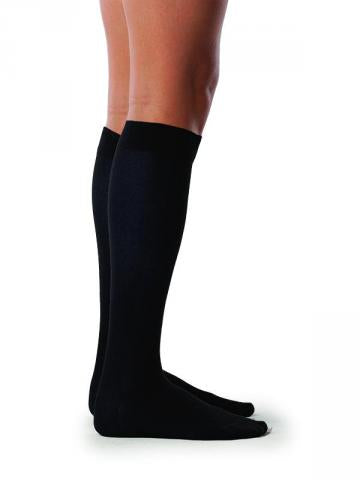 0371a863a Sigvaris Well Being Sea Island 15-20 mmHg Compression Cotton Socks for Women