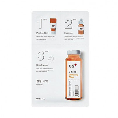 MISSHA: 3-Step Mask Vitamin-C (Brightening)