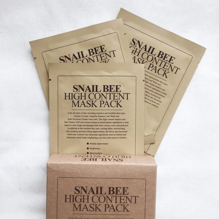 BENTON: Snail Bee High Content Mask Pack (10 pc)