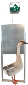 Automatic Goose Door Opener - Complete Kit - World's Largest Poultry Door-Cheeper Keeper