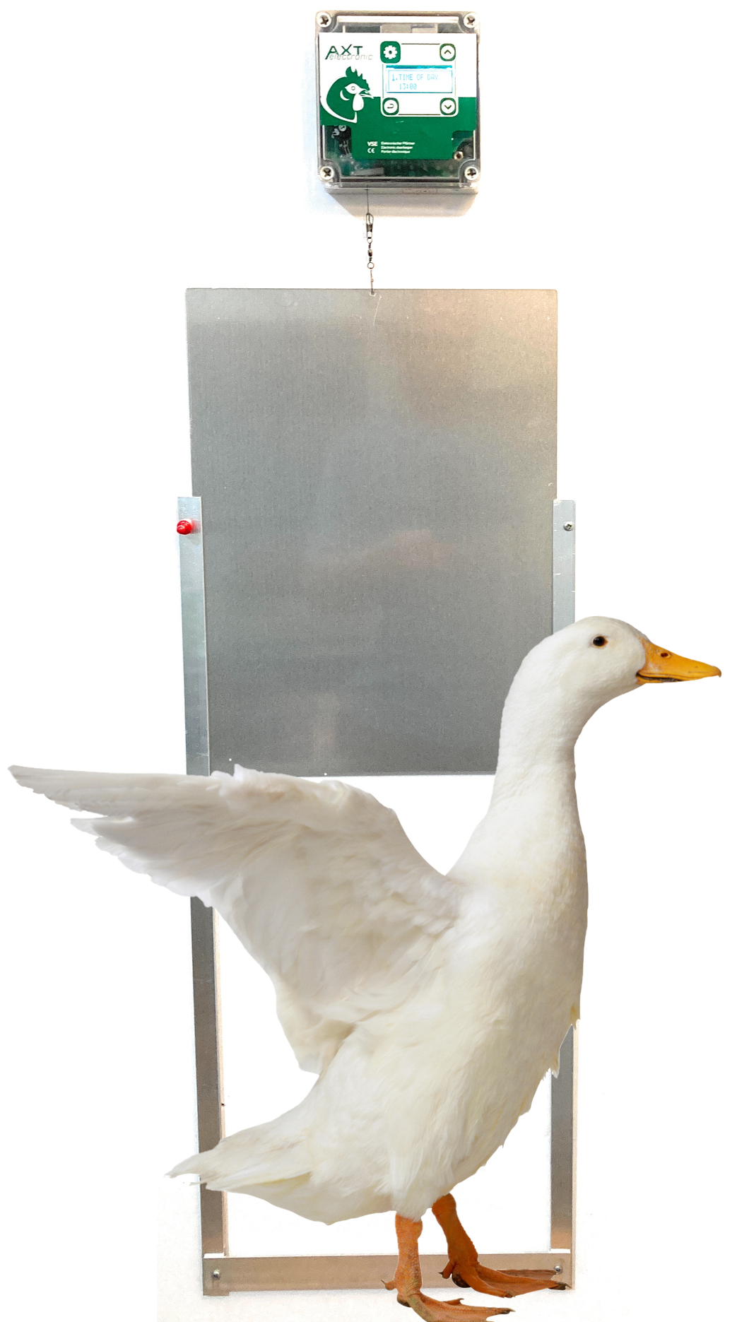 Automatic Programmable Duck Door Opener- Complete Kit - Fits All Breeds Ducks-Cheeper Keeper
