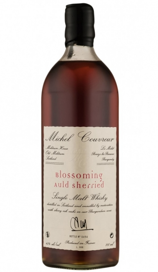 "Michel Couvreur ""Blossoming Auld Sherried"" Single Malt Whisky (Scotland)"