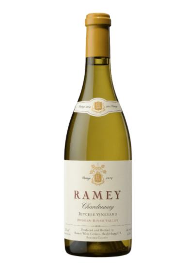 "*9W* 2015 Ramey Cellars ""Ritchie Vineyard"" Chardonnay (Russian River Valley, CA)"