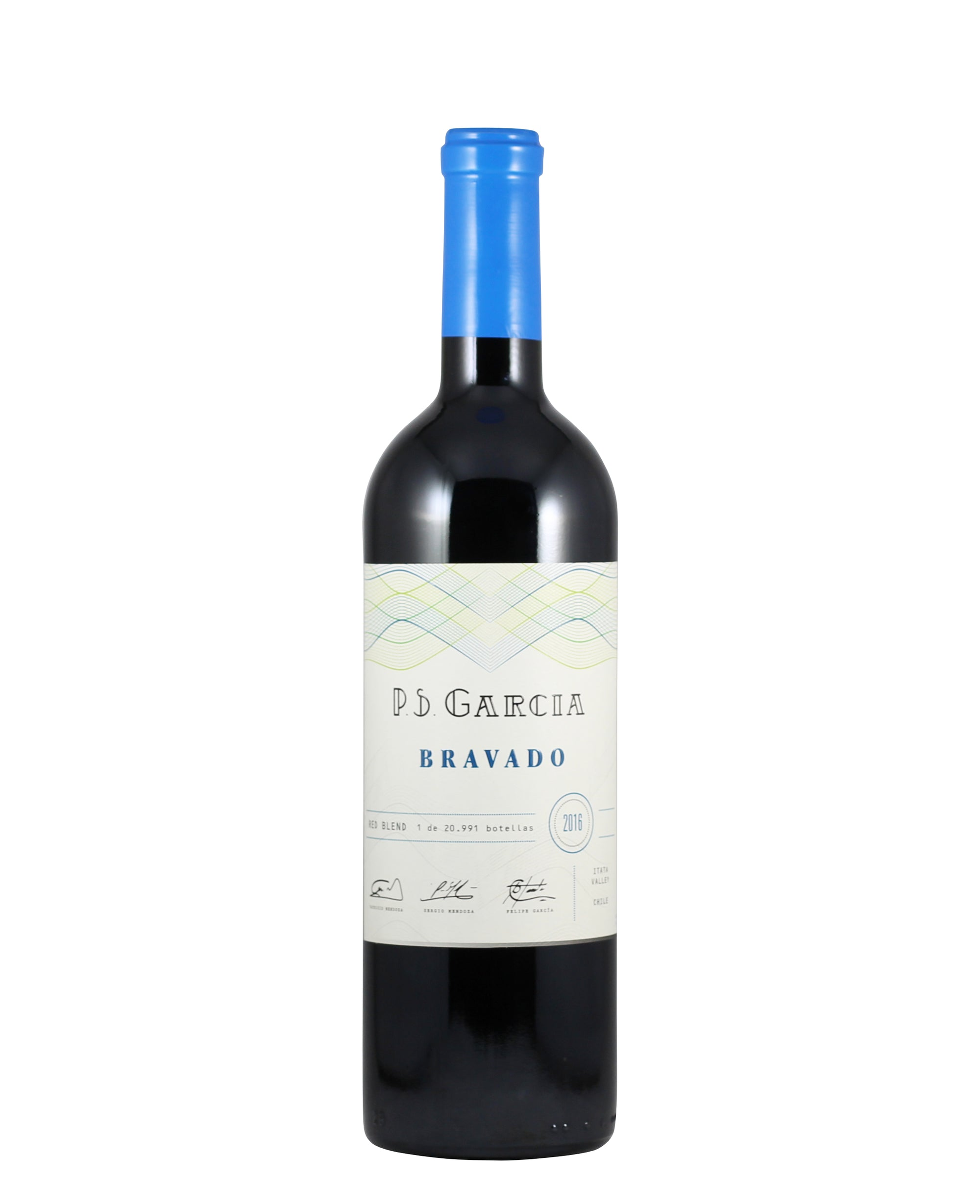 "*9R* 2018 P.S. Garcia ""Bravado"" Red Blend (Valle del Itata, Chile)"