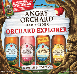 "Angry Orchard ""Explorer"" Cider Variety 12 Pack"