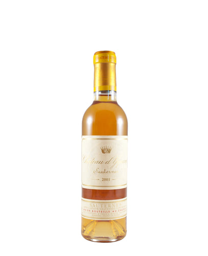 2001 Chateau d'Yquem Sauternes 375ml (Bordeaux, FR)