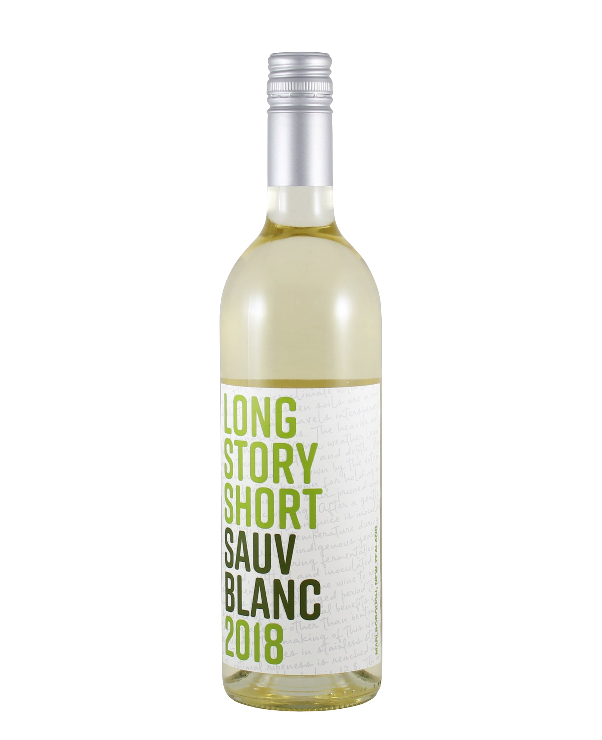 *2W* 2020 Long Story Short Sauvignon Blanc (Marlborough, NZ)