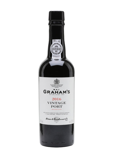 2016 Graham's Vintage Port 375ml (Douro, Portugal)