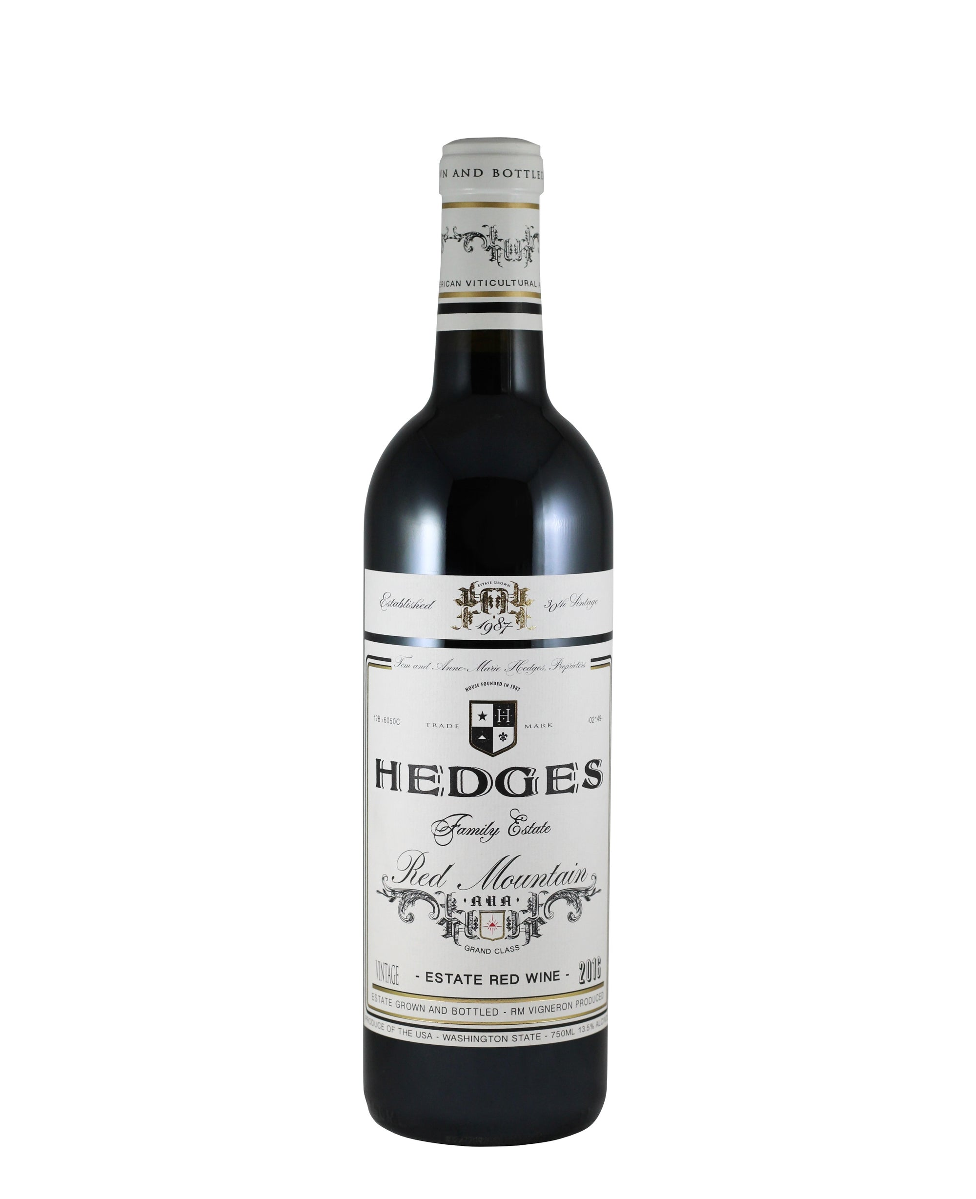 "*8R* 2017 Hedges Family Estate ""Red Mountain"" Red (Red Mountain, WA)"