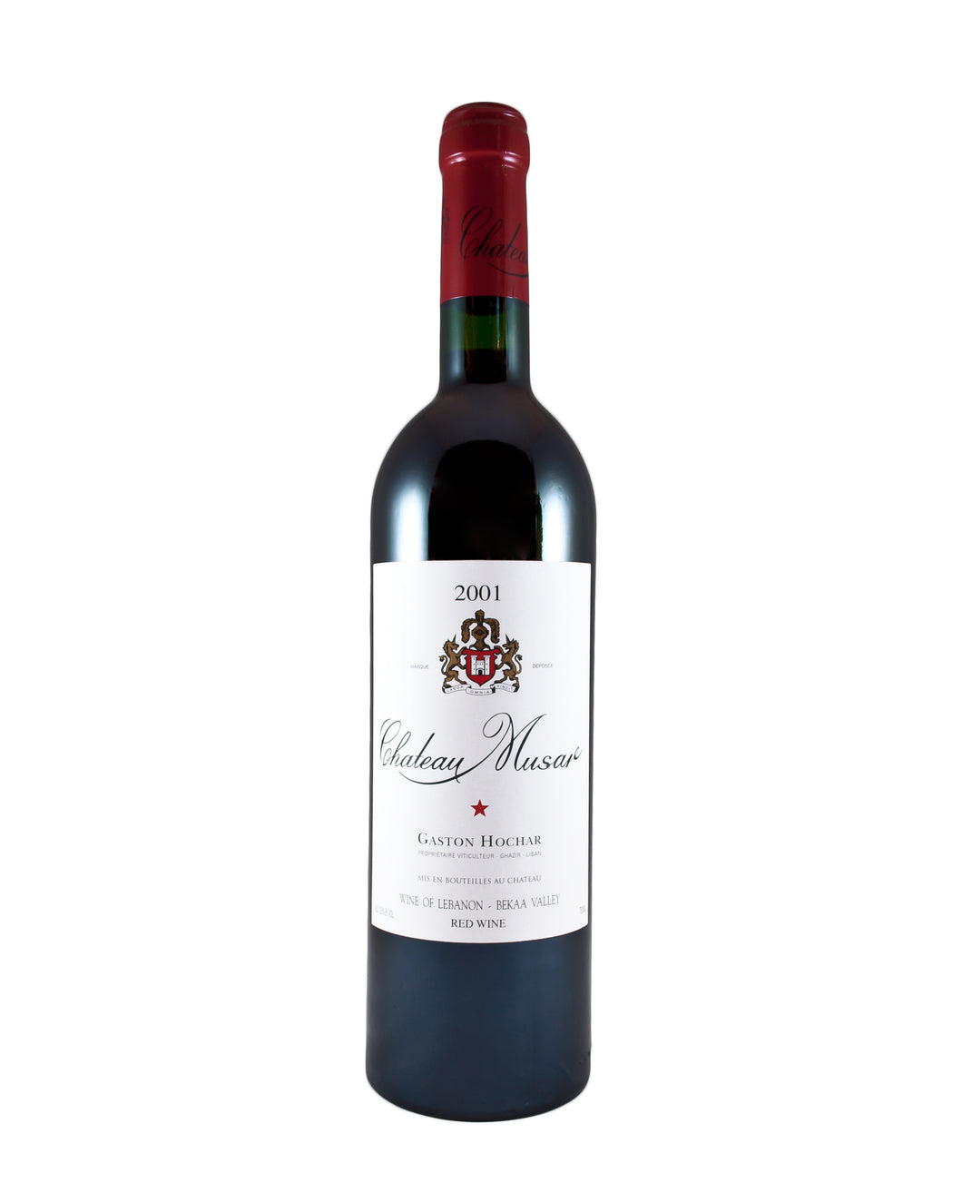 *5R* 2001 Chateau Musar Bekaa Valley Rouge (Bekaa Valley, Lebanon)
