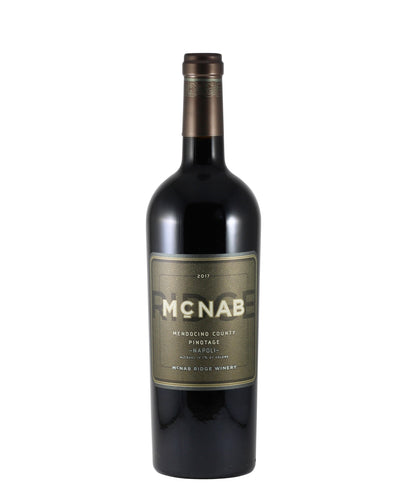 *9R* 2017 McNab Ridge Winery Pinotage (California)
