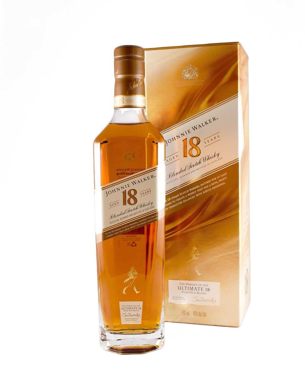 Johnnie Walker 18yo Blended Scotch Whisky (Scotland)